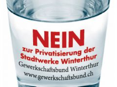 Nein zur Privatisierung der Winterthurer Stadtwerke