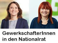 GewerkschafterInnen in den Nationalrat