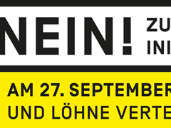 Logo: Nein zur Kündigungsinitiative