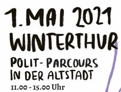 1. Mai in Winterthur