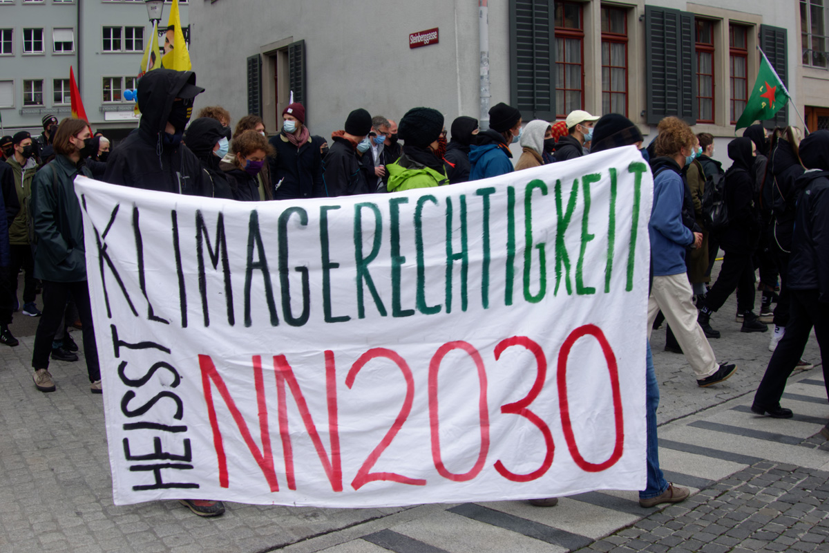 Klimagerechtigkeit heisst NN 2030