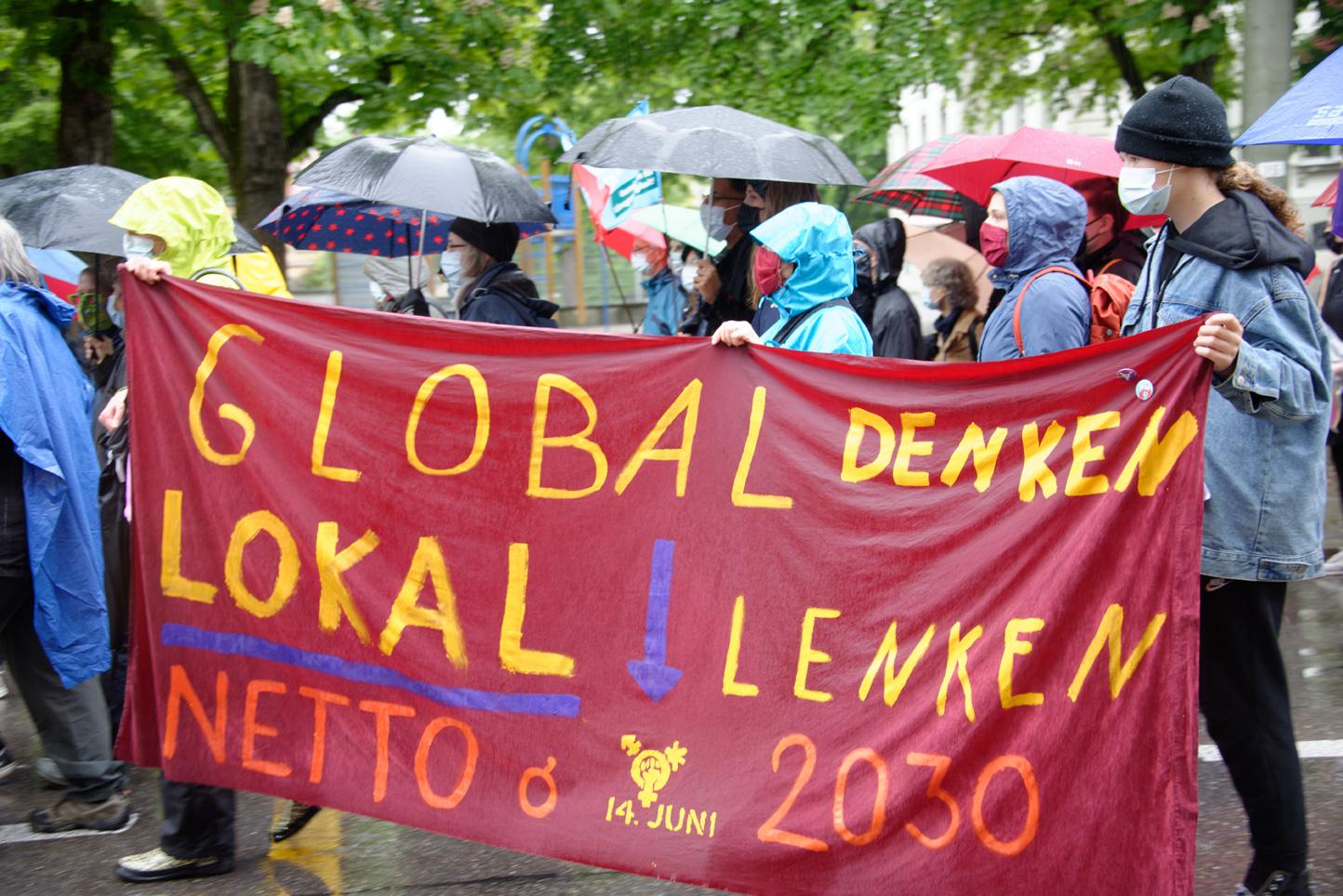 Global denken lokal lenken Netto Null 2030